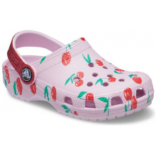 Kids' Classic Food Print Clog by Crocs in Knoxville TN