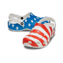 Classic American Flag Clog by Crocs in Lawrenceville GA