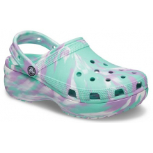 Women's Classic Platform Marbled Clog by Crocs in Knoxville TN