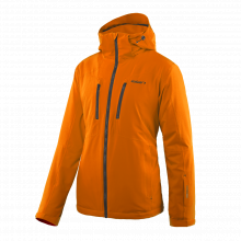 Camber Jacket Men Orange by Elan Skis in Chelan WA