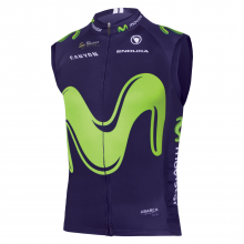 Men's Movistar Team Gilet 2017