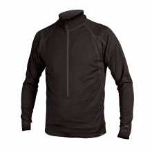 Men's Merino Zip Neck, L/S