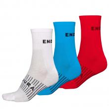 Men's CoolmaxRace Sock (Triple Pack) by Endura