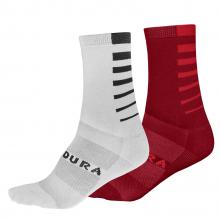 Men's CoolmaxStripe Socks (Twin Pack) by Endura