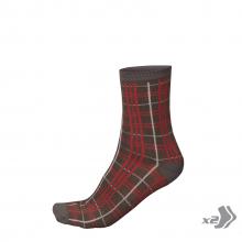 Men's Plaid Sock (Twin Pack) by Endura
