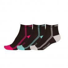 Wms COOLMAXStripe Sock (3-Pack) by Endura