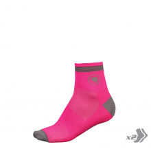 Wms Luminite Sock (Twin Pack) by Endura