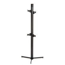 Velo Cache (2-Bike Storage Rack) Black by Feedback Sports
