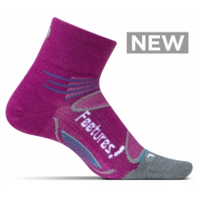 Merino+ Ultra Light Quarter by Feetures! in Hilo Hi