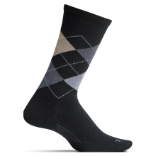 Men's Argyle Cushion Crew by Feetures! in Burbank Ca
