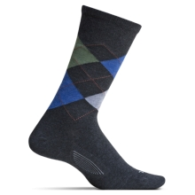 Men's Argyle Ultra Light Crew by Feetures! in Walnut Creek Ca
