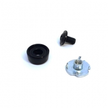 Aluminum Lower Cable Anchor Kit