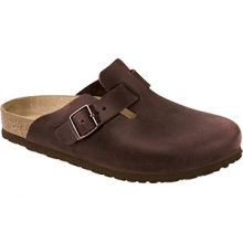 Boston Soft Footbed Habana Oiled Leather by Birkenstock