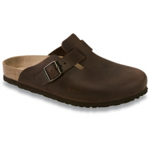 Boston Habana Oiled Leather by Birkenstock