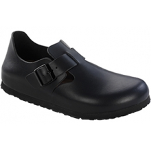 London Soft Footbed Hunter Black by Birkenstock