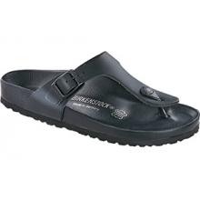 Gizeh Exquisite Black Leather by Birkenstock