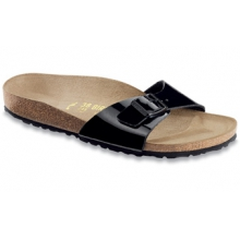 Madrid Patent  Black Birko-Flor by Birkenstock