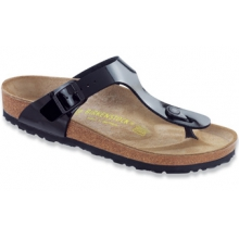 Gizeh Black Petent Birko-Flor by Birkenstock in Bay City Mi