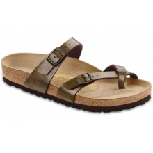 Mayari Golden Brown Birko-Flor by Birkenstock