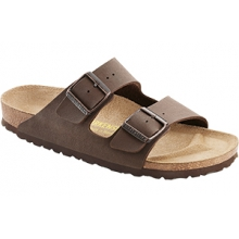 Arizona Mocha Birkibuc by Birkenstock
