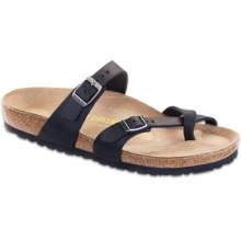 Mayari Black Oiled Leather by Birkenstock