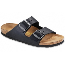 Arizona Black Oiled Leather by Birkenstock