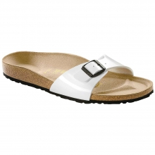 Madrid Bright White Patent Birko-Flor by Birkenstock