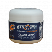 SPF 30 Clear Zinc Sunscreen 60g
