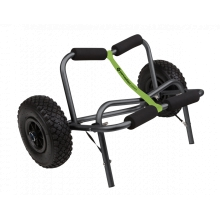 "Large Kayak Cart with 10"" No Flat Tires, Green by Perception"