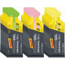 PowerGel Original Variety Pack (8 Packets Each of Greeen Apple, Strawberry Banana, Vanilla)