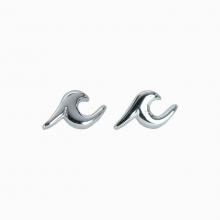 Wave Stud Earrings by Pura Vida Bracelets
