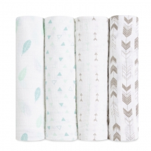 Classic Swaddles 4-pack by Brixy in Brentwood Ca