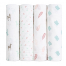 Classic Swaddles 4-pack by Brixy