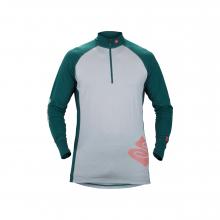 Men's Alpine Merino Wool Half Zip Base Layer Shirt by Sweet Protection