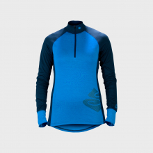 Women's Alpine Merino Wool Base Layer Half Zip Top by Sweet Protection