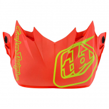 D3 Visor Silhouette Orange/Yellow by Troy Lee Designs