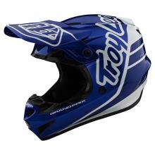 GP Helmet Silhouette Navy/White by Troy Lee Designs