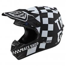 SE4 Polyacrylite Checker Black/White by Troy Lee Designs