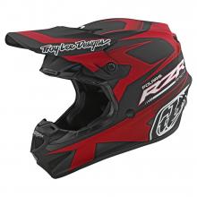 SE4 Polyacrylite Helmet TLD Polaris Rzr Red by Troy Lee Designs