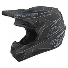 SE4 Polyacrylite Helmet TLD Polaris Rzr Black by Troy Lee Designs