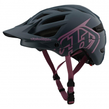 A1 Helmet Drone Gray/Pink by Troy Lee Designs