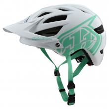 A1 Helmet Drone White/Aqua by Troy Lee Designs