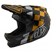 D3 Fiberlite Raceshop Black/Gold by Troy Lee Designs in Chelan WA
