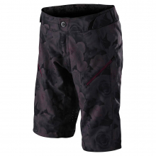 Women's Lilium Short Shell Floral Black by Troy Lee Designs