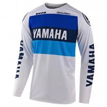 SE Pro Jersey TLD Yamaha L4 White by Troy Lee Designs