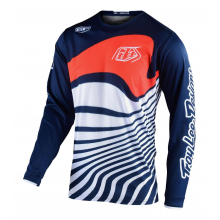 GP Jersey Drift Navy/Orange by Troy Lee Designs