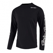 Sprint Jersey Black by Troy Lee Designs