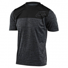 Flowline SS Jersey Shield Heather Black/Black