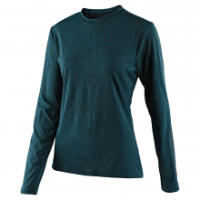 Women's Lilium LS Jersey Floral Emerald by Troy Lee Designs