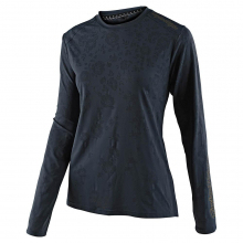 Women's Lilium LS Jersey Floral Charcoal by Troy Lee Designs